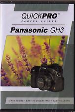 Quickpro Training Dvd Panasonic Gh3 >New< Free Us Shipping