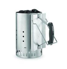 Weber Webber Rapidfire Large Small Bbq Coal Charcoal Chimney Fire Starter Kit