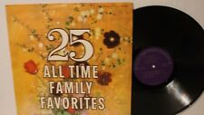 25 All Time Family Favorites - All Disc Production - Classical LP vinyl record