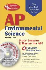 AP Environmental Science w/CD-ROM (REA) The Best Test Prep for Advanced