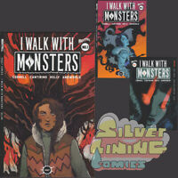 I WALK WITH MONSTERS #1 Set of Three COVER A + B + C VARIANT Vault Comics 2020