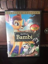 Bambi (DVD, 2005, 2-Disc Set, Special Edition/Platinum Edition) BRAND NEW