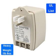 UL LISTED CCTV Plug-In Adaptor 24V AC 50VA Power Supply Transformer For Cameras