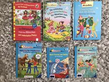 6 Kinderbücher Bücher für Mädchen für Erstleser zum Lesenlernen, neuwertig