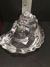 ORREFORS CRYSTAL ART GLASS SHELL Candle Votive 5210/62 New Unused Open Box