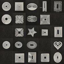 Gemini moderno en forma de crear-a-Card muere por Crafters Companion edge/'ables