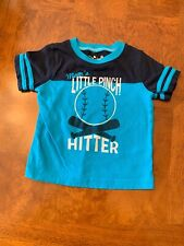 Infant Boys Jumping Beans Short Sleeve Graphic T-Shirt-Size 12 Months