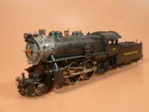 BRASS  PRR Pennsy E6s 4-4-2 Gem Red Label.  Pro Paint, Check out photos!