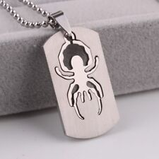 """316L Stainless Steel Pendant 0.84X1.44 Inch Scorpion Silver  Necklace 22"""" B50"""