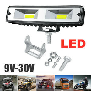 48W 6000K Car LED Work Light Flood Spot Beam Offroad Boat SUV Driving Fog Lamp