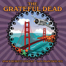 CD - THE GRATEFUL DEAD - SNACK Benefit Concert 1975. New + Sealed. **NEW**