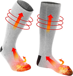 Electric Heating Socks, 1Pair Cold Weather Thermal Socks Battery Heated Socks fo