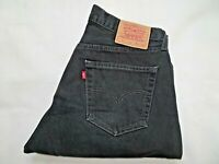 "LEVIS 517 Mens Jeans Straight Fit Black Denim SIZE W36 L30 Waist 36"" Leg 30"""