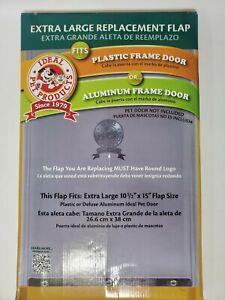 "Ideal Pet Products Pet Dog Cat Door Extra Large Replacement Flap 10.5"" X 15"""