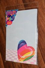 New Older Lisa Frank P222 Stationary 16 sheets paper & 8 envelopes HEARTS LOVE