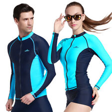 1Pc Womens/Mens Diving Jacket Suits Wetsuits Tops Surfing Rash Guards Snorkeling