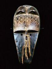 BAMBARA KORE CEREMONIAL HYAENA MASK - MALI - AFRICAN TRIBAL ART - PERFECT