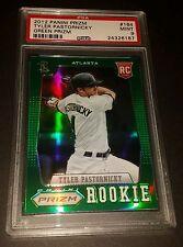 2012 Panini Prizm #164 Tyler Pastornicky Rookie Green Prizm PSA 9 Mint
