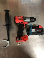 "New Milwaukee 2804-20 18v 1/2"" Fuel Hammer Drill/Driver 5.0ah Battery 48-11-1850"