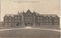 New York NY Real Photo RPPC Postcard 1915 ONEONTA STate Normal School