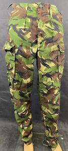 British Military Woodland DPM Camouflage Lightweight Combat Trousers