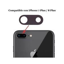 Cristal de Cámara Trasera (iPhone 8 - 7) Plus Lens Lente Repuesto para Camara