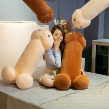60cm Long Penis Plush Doll Toy Stuffed Creative Dick Soft Pillow Cushion Bolster