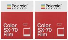 2 x POLAROID COLOR SX-70 SOFORTBILDFILM !! NEUHEIT von Impossible !! PX 70 SX70
