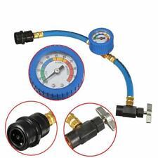 35mm Klimaschlauch R134a Klimaanlage Kältemittel Druck Manometer für KFZ Auto