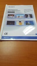 SONY Nex C3 Fotocamera completamente STAMPATA Manuale di Istruzioni Guida Utente 170 pagine A5