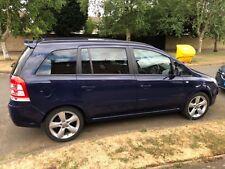 Vauxhall zafira exclusive 1.8 manual 2014 7 seater