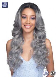 Bobbi Boss Human Hair Blend 360° Swiss Lace Front Wig MBLF340 Kiliah