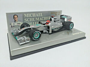 MINICHAMPS 1/43 MICHAEL SCHUMACHER COLLECTION SHOWCAR 2010 400100073 GP PETRONAS