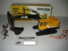 Clark Lima 2505 Excavateurs tieflöffel vers à soie #147 NZG 1:50 neuf dans sa boîte