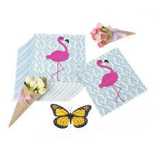 Flamingos Napkins Paper Virgin Wood Tissue Birthday Wedding Party Festive DecorS