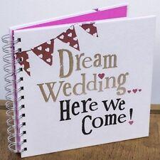 Rêve de mariage Here We Come! Planner Book Diary Journal Organisateur Fiançailles Cadeau