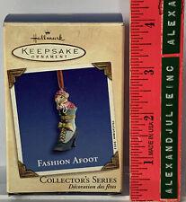 Hallmark Keepsake Ornament Fashion Afoot Joanne Eschrich 2002 Collector's Series