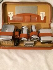 Vintage 1950's Gents Travelling grooming set Gillette Razor , please see picture