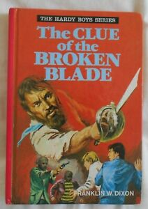 The Hardy Boys #4, The Clue of the Broken Blade by Franklin W Dixon hc 1977