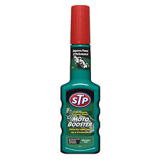 STP Motorcycle Scooter Fuel System Injector Valve Carb Cleaner Treatment 200ml