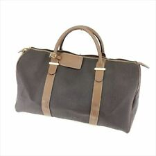 Dunhill Boston bag Grey Woman Authentic Used T7630