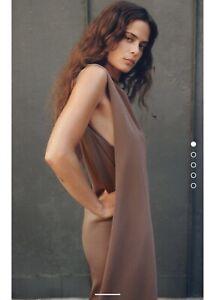 Zara Shoulder Pad Dress Size M