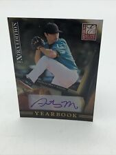 2011 Donruss Elite Extra Edition Yearbook Signature  Card #9 Anthony Meo /499