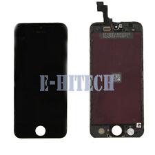 IPhone 5s Nero Completo LCD Screen Display Vetro Digitalizzatore Montaggio Apple + Strumento