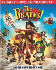 THE PIRATES BAND OF MISFITS New Sealed DVD + Blu-ray + Ultraviolet Digital Copy