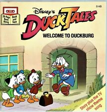 Children's SEE HEAR READ Book Disney DUCKTALES Welcome To Duckburg  ~ Book Only