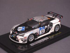 1/43 Ebbro Lexus LFA Code X #53 - SP-Pro Sieger - 24h Nürburgring 2014 - 45190