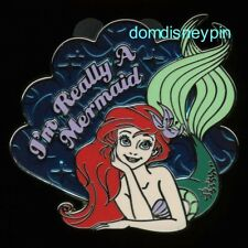 Disney Pin *The Little Mermaid* Character Series - Ariel (I'm Really a Mermaid)!