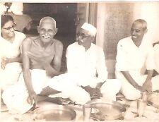 Gandhi Memorabilia B&W CAMERA PHOTO Kanu Gandhi Abha -Dr Rajendra? Bapu?original