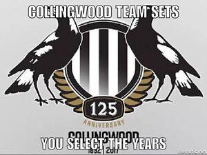 1993-2021 Select Australia COLLINGWOOD Team Sets (You Select)